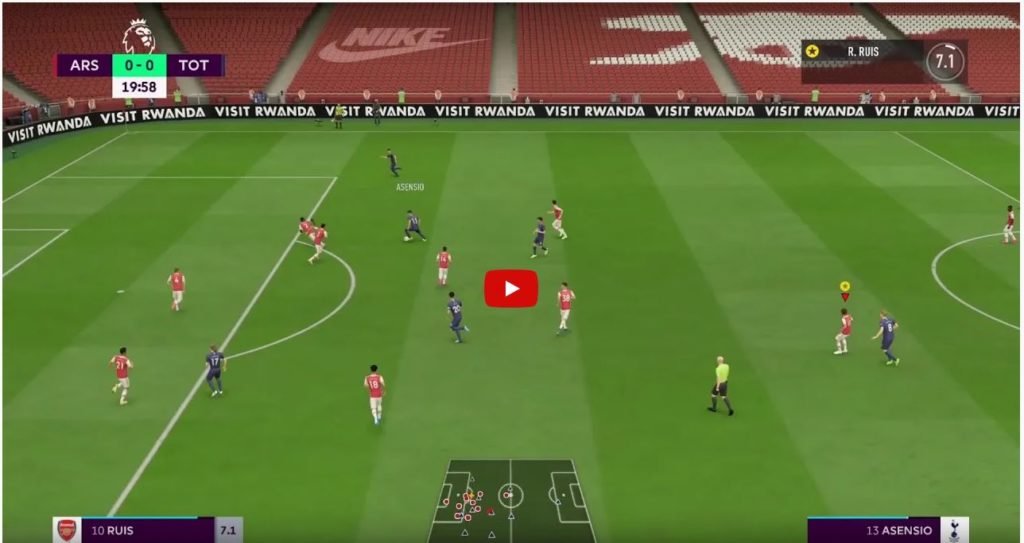 FIFA In-Game Advertising Example