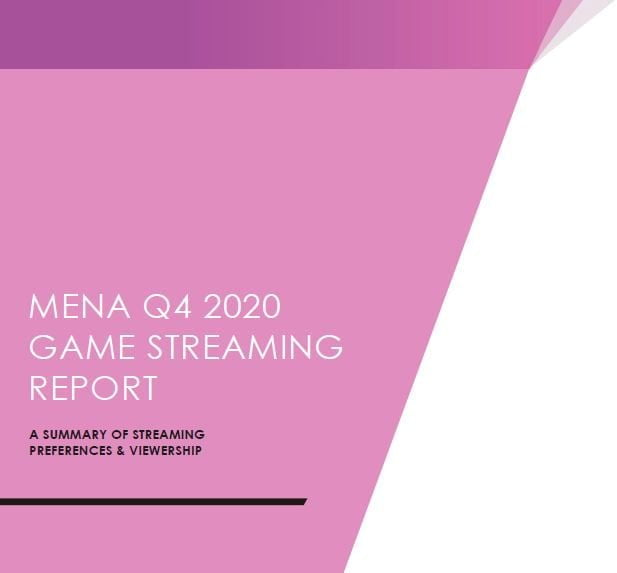 MENA Game Streaming & Viewership Summary Report - Q4 2020